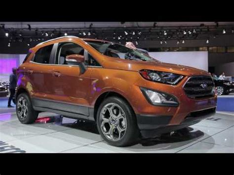 2018 ford ecosport review, ratings, specs, prices, and