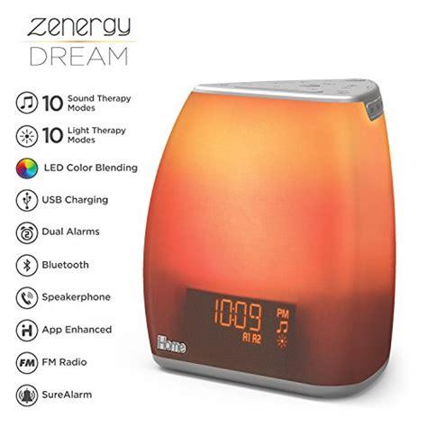 ihome zenergy bedside sleep therapy machine sleep  easier longer zen light sound
