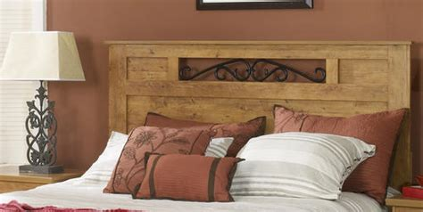 knotty pine headboard dakota 64 quot prefinished knotty pine queen headboard at