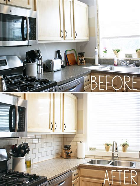 Kitchen Countertops And Backsplash by Our New Kitchen Countertops And Backsplash Less Than