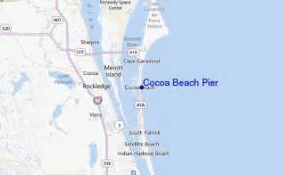 where is cocoa florida on map cocoa pier surf forecast and surf reports florida
