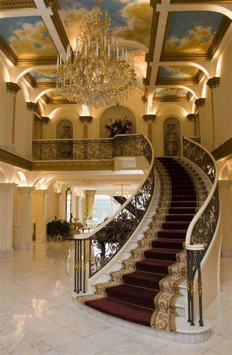 the mansion project the mansion s grand stair hall inside villa collina a mansion on lyons view pike