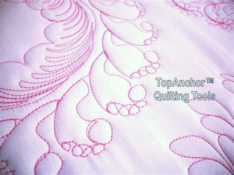 Feather Quilting Templates by Feather Wreath Longarm Quilt Templates Quilting Designs