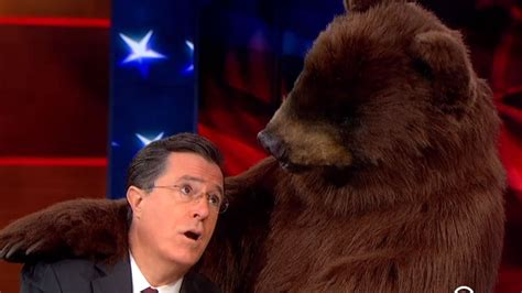 stephen colbert puppies stephen colbert uses puppies and a for ratings la times