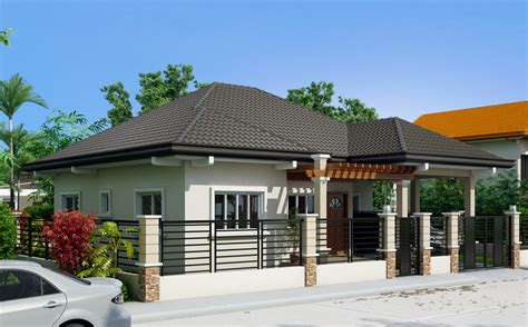 single story house design three single storey houses with elegance amazing