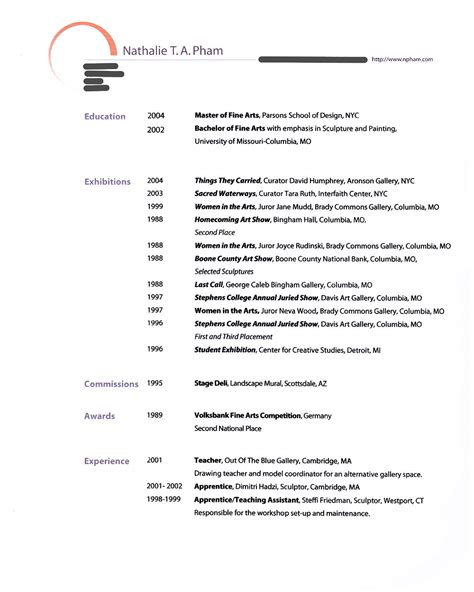 american resume format image gallery resume american