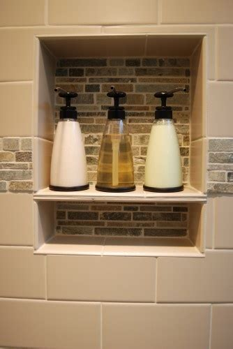 Shower Cubby Holes by Pin By Vickers On Bathroom Inspiration