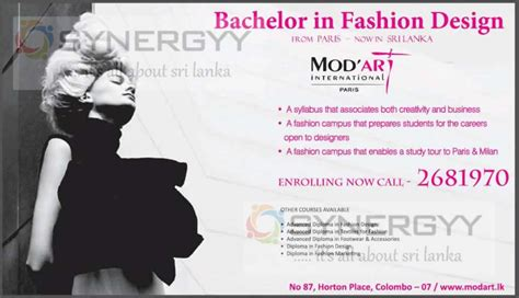 fashion design degree from home fashion design degree in sri lanka by mod art education