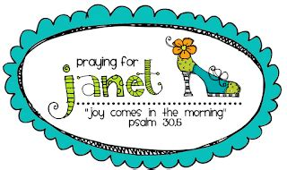 Janet Is Praying For by Mrs Tilmon Says Prayers For Janet