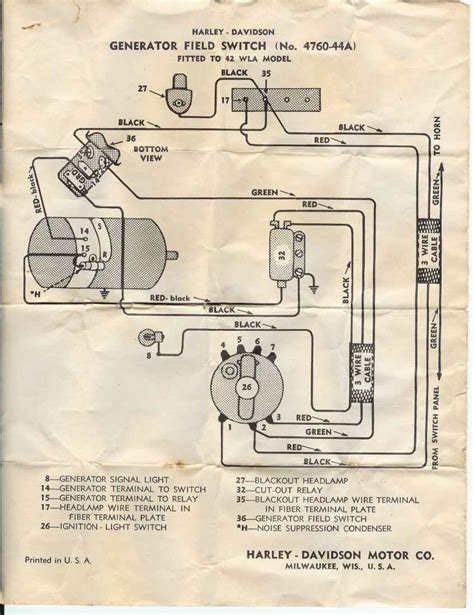 motorcycle ignition switch wiring diagram motorcycle