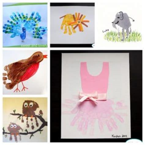 diy handprint crafts 9 foot and handprint ideas for
