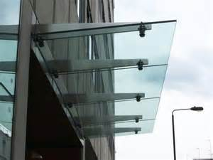 glass awnings canopies modern glass canopies architecture