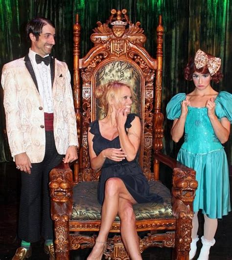 Pam Takes For In Vegas Show by Takes In Absinthe At Caesars Palace In Las