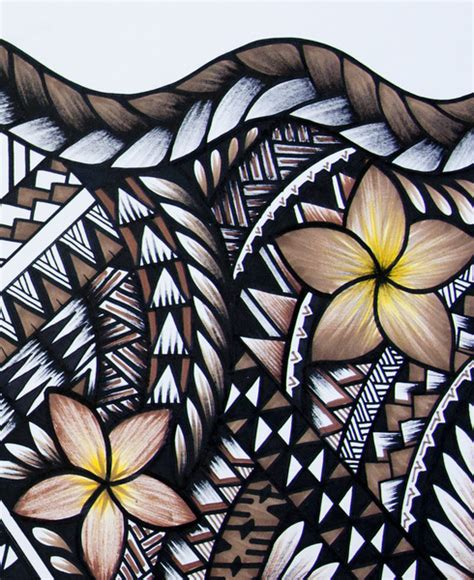samoan home decor samoan beauty art print