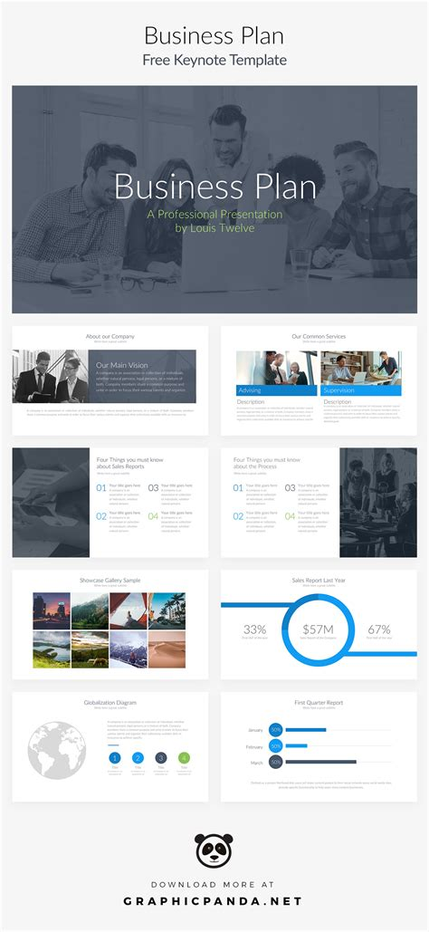 well designed powerpoint templates free keynote template business plan pitch deck on behance