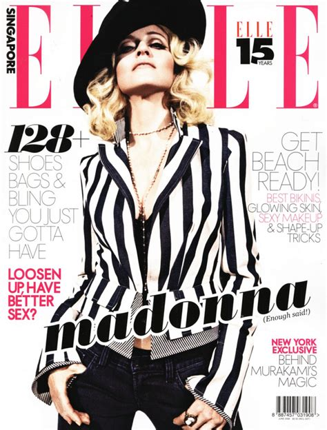 Is Elles September 2008 Cover by Singapore Hq Cover Scan Madonnatribe Decade