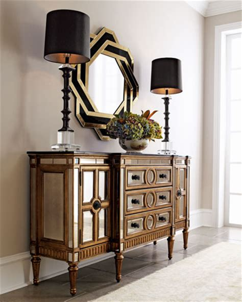 mirrored furniture dresser nightstands neiman