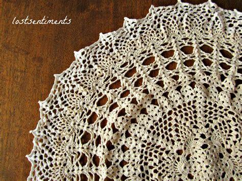 vintage pattern crochet lostsentiments vintage crochet doily pattern venus