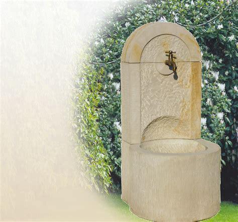 Wandbrunnen Aus Naturstein F 252 R Den Garten