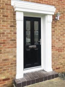 a classical look with a modern twist black composite door