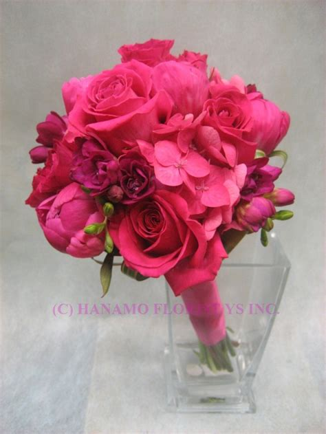 Pink Wedding Flower Bouquets by Wedb071 Pink Flowers Wedding Bouquet Wedb071 175