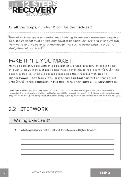 Al Anon 12 Steps Worksheets by Printables Al Anon 12 Steps Worksheets Ronleyba