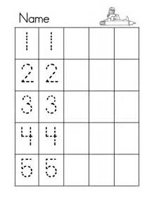 Tracing paper tracing numbers 1 2 3 4 5 worksheet