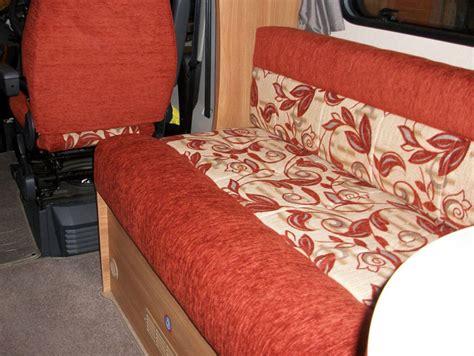 recovering caravan upholstery motor caravan furnishings and upholstery