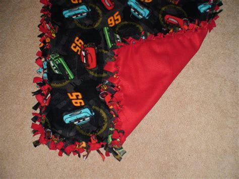 Make Fleece Tie Blanket by Baby Blanket Pictures