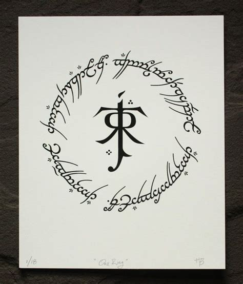 Lord Of The Rings Elven Symbols