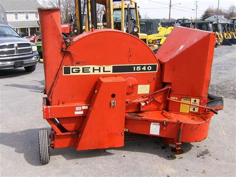 wisconsin ag connection gehl  forage blowers  sale