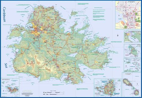 Detailed Search Free Large Antigua Island Maps For Free And Print High Resolution And Detailed Maps