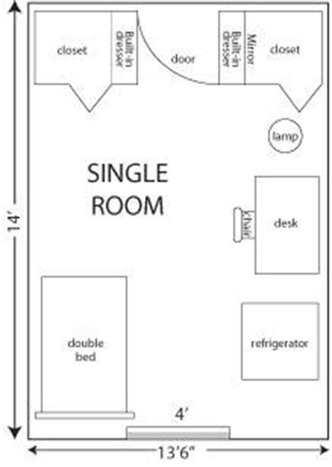 Student Housing Floor Plans mackin complex room size residence life and housing