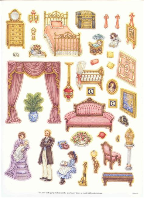 doll house stickers 17 best ideas about paper doll house on pinterest doll house crafts doll house
