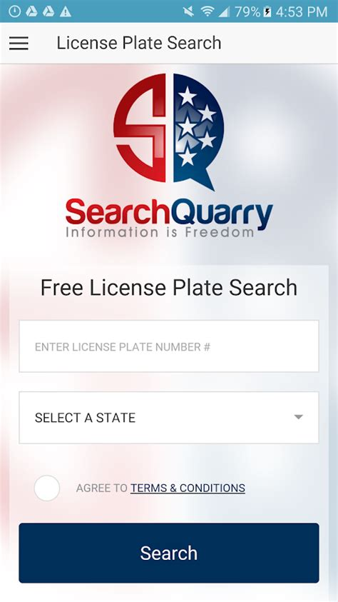 Free License Plate Lookup Free License Plate Search App Android Apps On Play