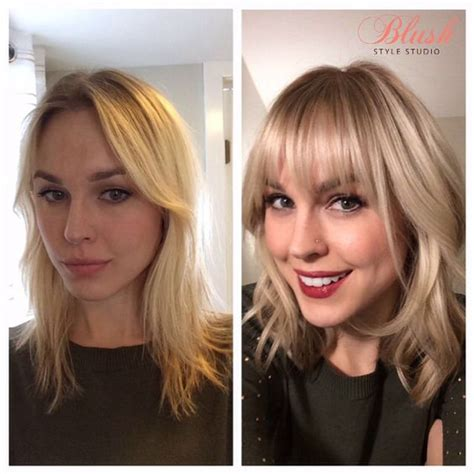 catwalk hair before and after bangs pinterest the world s catalog of ideas