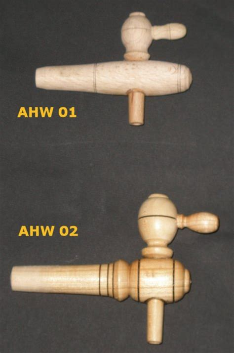 Wooden Faucet by Small Medium Sized Taper Wooden Wine Taps Vinegar