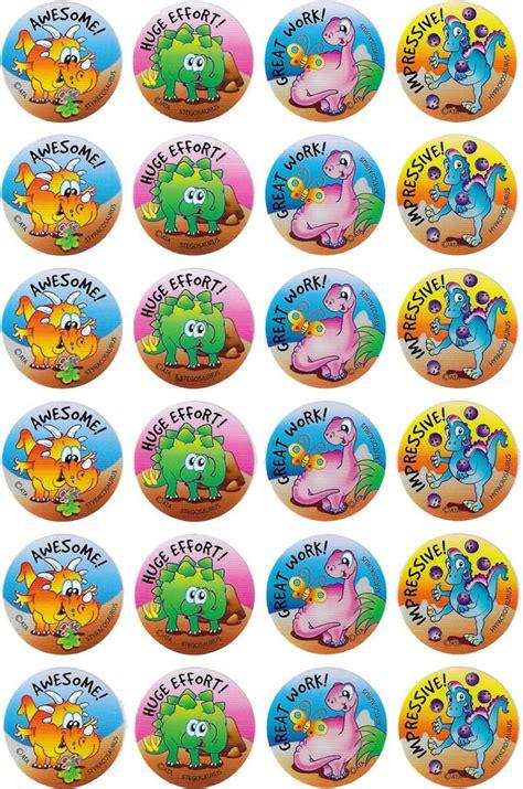 printable dinosaur stickers dinosaurs merit stickers australian teaching aids