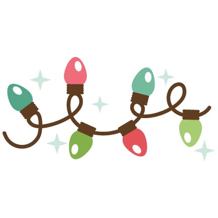 christmas lights svg cutting file christmas svg cut file