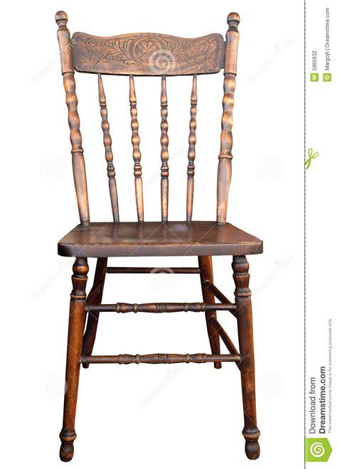 imagenes sillas antiguas silla de madera antigua fotograf 237 a de archivo imagen