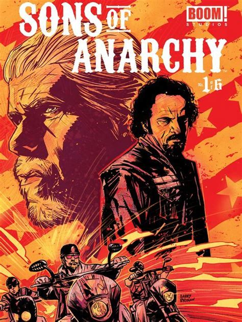 sons books sons of anarchy rolls into the world of comic books