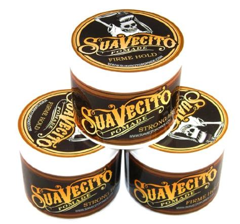 Pomade Suavecito Strong suavecito pomade firme strong hold 4 oz pack of 3 best pomade for