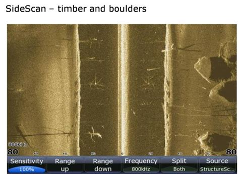 understanding the open boat help my understand sidescan sonar the hull truth