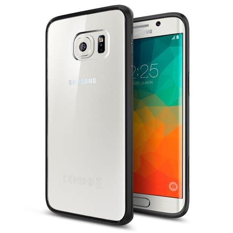 Samsung S6 Spigen Cover Samsung Casing Galaxy samsung galaxy s6 edge spigen ultra hybrid sammobile sammobile