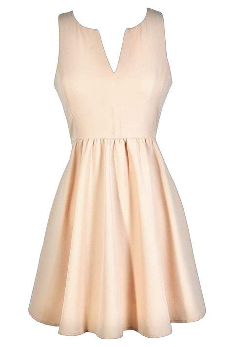 D Barly Dress By Gagil blush pink dress pale pink dress light pink dress blush