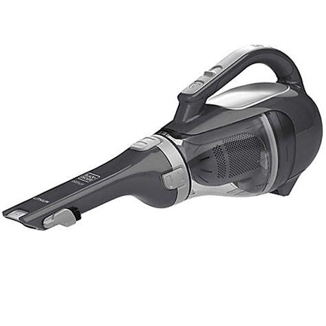 bed bath and beyond handheld vacuum black decker 20 volt lithium cordless handheld vacuum