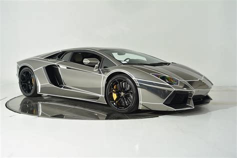 chrome lamborghini inspired chrome lamborghini aventador is on sale