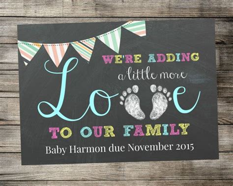 free pregnancy announcement card templates free printable pregnancy announcement templates
