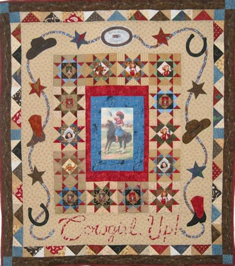 Cowboy Quilt Pattern by Quilt Inspiration Quilts Of The West Part 2