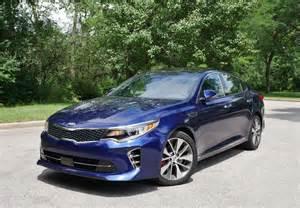 Kia Optima Blue 2016 Kia Optima Sx Limited 2 0t My Blue Family Sedan